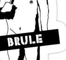 Naked Brule Version 1 Sticker