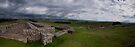 Hadrian's Wall Fort at Housesteads - Panoramic by Nigel Bangert