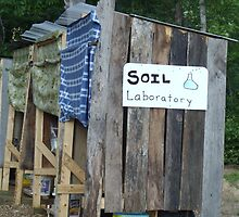 Soil Laboratory (Compost Toilet Outhouse) by Cari Moore