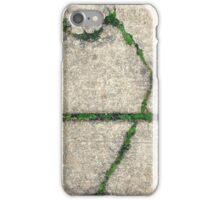 sidewalk moss, urban beauty iPhone Case/Skin