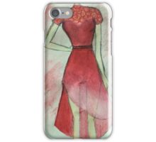 Red is the new trend iPhone Case/Skin
