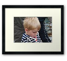 I just simply LOVE HIM! Framed Print