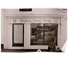 Skipton Sweet Shop Poster