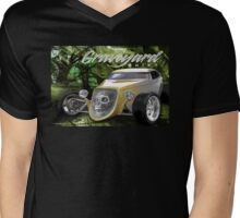 graveyard shift Mens V-Neck T-Shirt