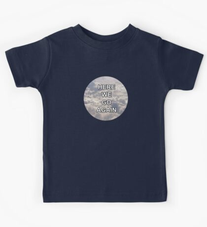Clouds (Here We Go Again) - One Direction Kids Tee