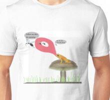 The tongue ipeming Unisex T-Shirt