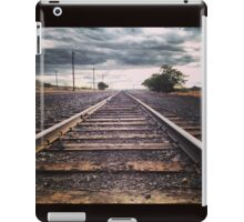 Tracks Leading to the Storm iPad Case/Skin