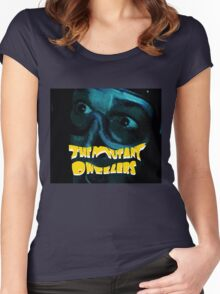 The Mutant Dwellers (larger) Women's Fitted Scoop T-Shirt