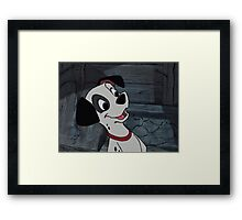 101 Dalmatians Patch Framed Print
