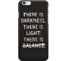 NO BALANCE iPhone Case/Skin