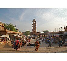 Jodhpur Market Day Photographic Print