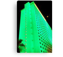 green hotel, laughlin nevada Canvas Print