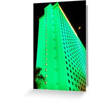 green hotel, laughlin nevada Greeting Card