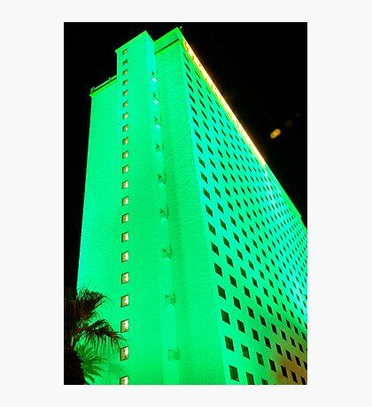 green hotel, laughlin nevada Photographic Print