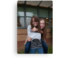 Bromley High School A Level results students 2015 Canvas Print
