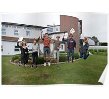 Bishop Justus School A Level results students 2015 Poster