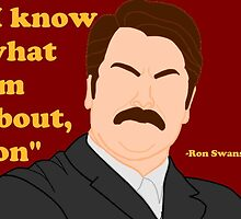 Parks and Rec - Ron by JessicaPippi