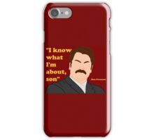 Parks and Rec - Ron iPhone Case/Skin
