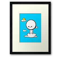 Little Guy  Framed Print