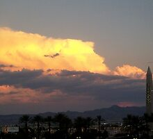 Storm Clouds Over Vegas by OakRanger