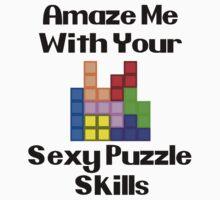 Sexy Puzzle Skills  by PopCultFanatics