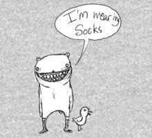 """I'm Wearing Socks"" by Samuel  Nachison"