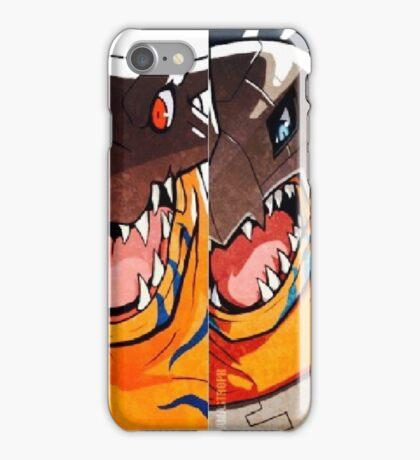 Greymon evolution iPhone Case/Skin
