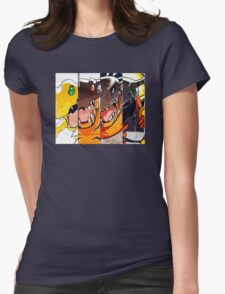 Greymon evolution Womens Fitted T-Shirt