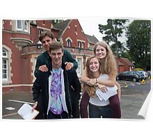 Hayes School in Kent A Level results students 2015 Poster