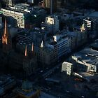well known landmarks for melbournians by geof