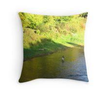 Tweed Fisherman Throw Pillow