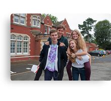 Hayes School in Kent A Level results students 2015 Canvas Print