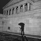 Umbrella Shadow by Scott Sheehan