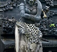 Temple Guardian 1 by Werner Padarin