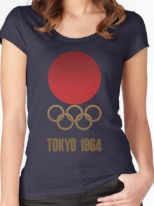 Tokyo 1964 - Olympics - Render Women's Fitted Scoop T-Shirt