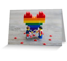 Committing to Equality Greeting Card