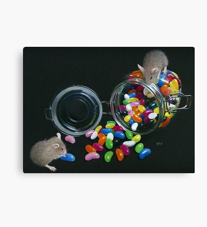 Full o' Beans Canvas Print