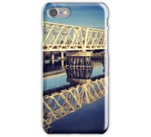 Reflections Under Bright Blue Skies iPhone Case/Skin