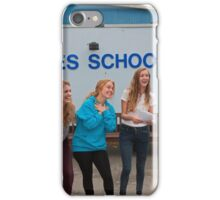 Hayes School in Kent A Level results students 2015 iPhone Case/Skin