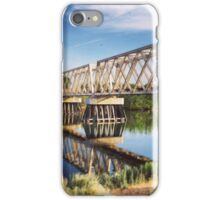 Reflections of Bright Blue Skies iPhone Case/Skin
