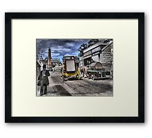 Always Busy at the Diggings Framed Print
