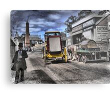 Always Busy at the Diggings Metal Print
