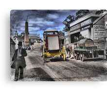Always Busy at the Diggings Canvas Print