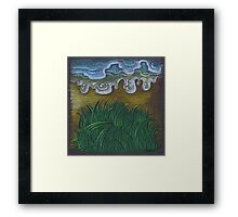 Life - water and grass Framed Print