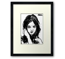 witch Framed Print