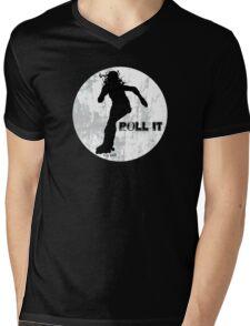 Roll it!! (white) Mens V-Neck T-Shirt