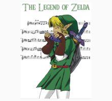 Legend of Zelda - music Kids Tee