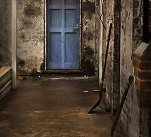 A closed door ... by Rosalie Dale