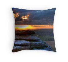 Pulpit of Fire Throw Pillow