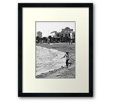 ... so hope that wasn't doggy-doos! Framed Print